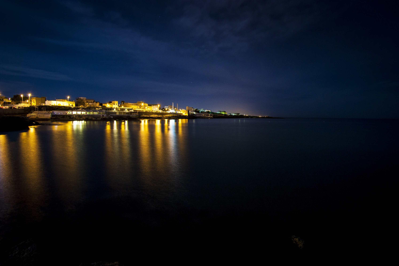 Torre a Mare di notte